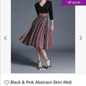 4c0fbd405e3 Coeur De Vague Abstract Midi Dress